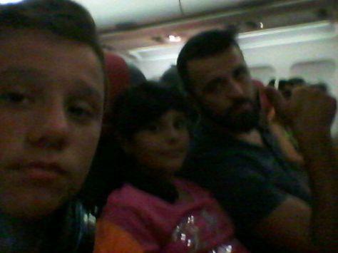 Javier Flores (Dragón), mi hermana y yo...