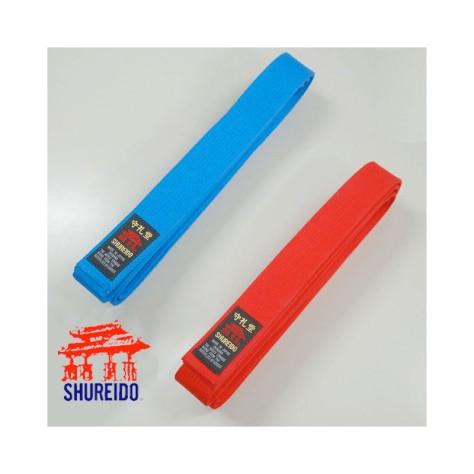 2-cinturones-shureido-kata-rojo-azul-wkf