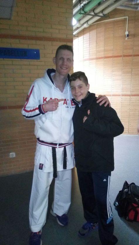Con Junior Lefevre