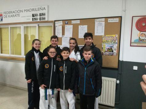 Concentración con la Selección Madrileña de Karate