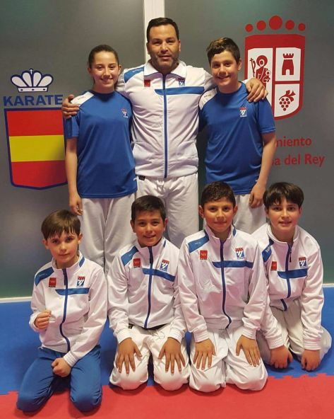 Competidores del Club Iván Leal que representamos a Madrid