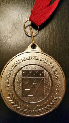 Subcampeón de Madrid de Kumite por Equipos Mixto 2017