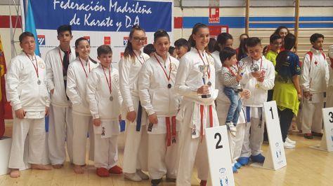 Subcampeones de Madrid por Equipos Mixtos 2017 con el Club Iván Leal