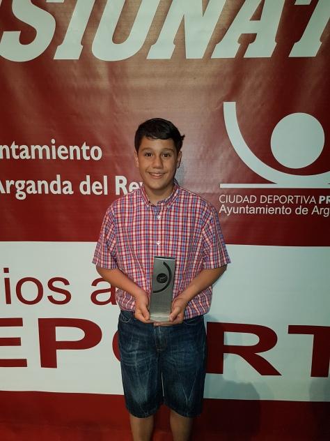 Con el Premio de la Gala del Deporte