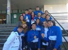Con mis compañeros de Club y Selección