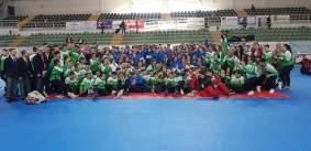 Federación Andaluza de Karate y Federación Madrileña de Karate - Ponferrada 2018